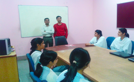 Interaction with Alumnus Radha Govind Group of Institutions, Meerut