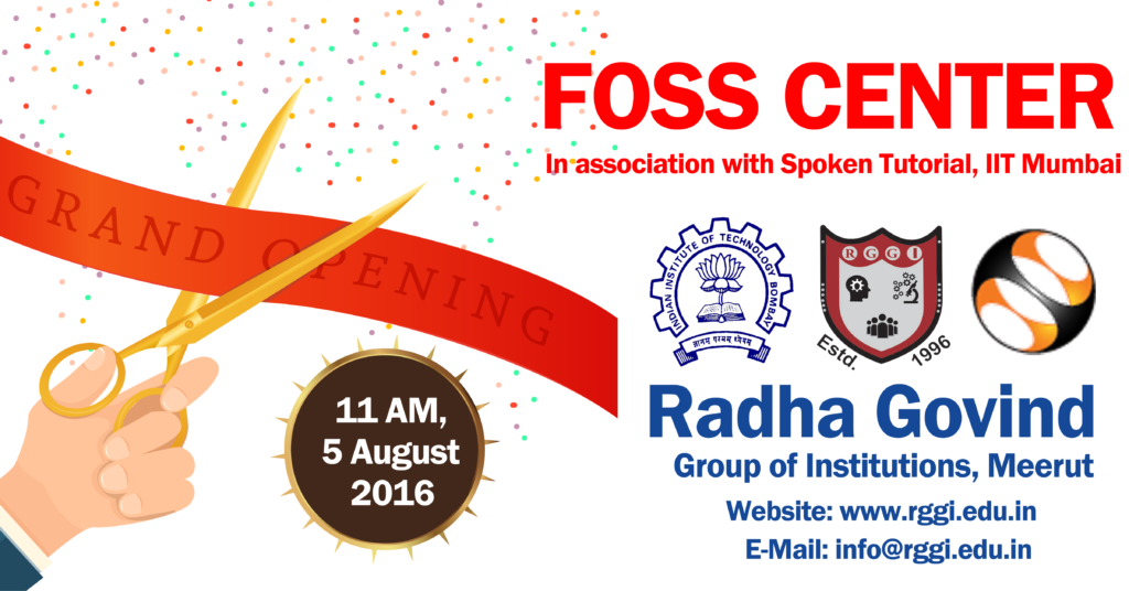 inauguration of FOSS Center