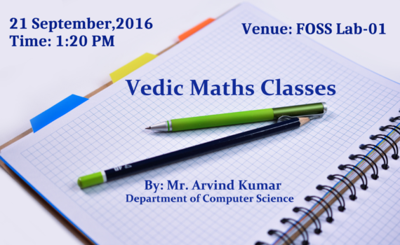 Lecture on Vedic Mathematics