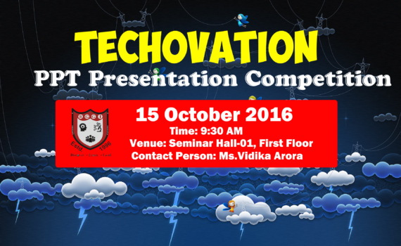 Techovation PPT Presentation Competition