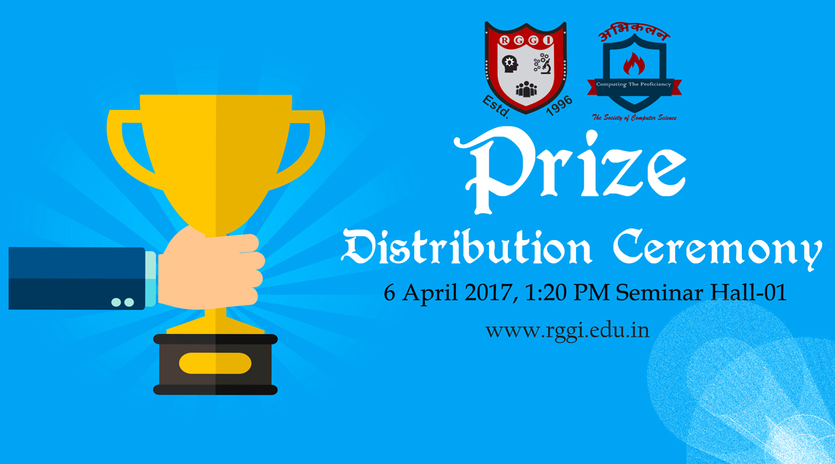 tPrize Distribution Ceremony