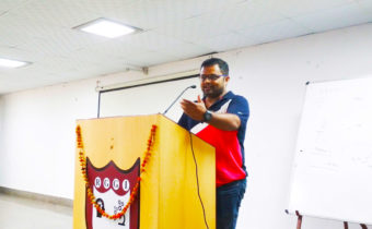 Interaction with Mr. Ayush Singhal- An alumnus of RGGI